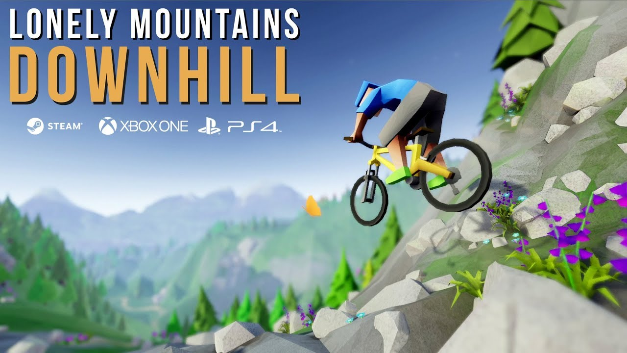 Lonely Mountains: Downhill - Cycling Video Game Released Today 30