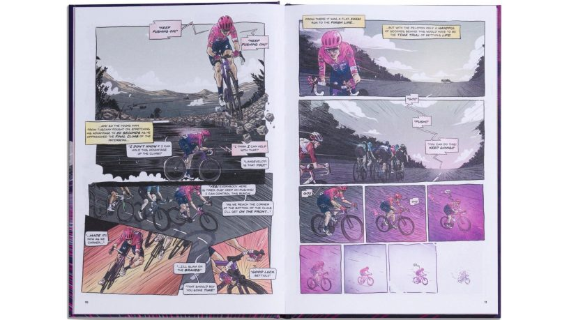 EF Education First Release Comic Book Style 'Gone Racing' Annual
