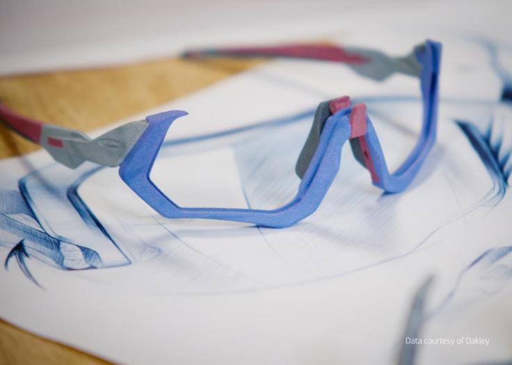 Oakley Expands Adoption of HP's 3D Printing Prototyping Technology 4