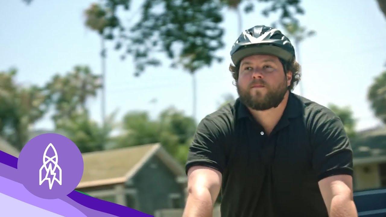 Video: The World's Best Blind Mountain Biker 3