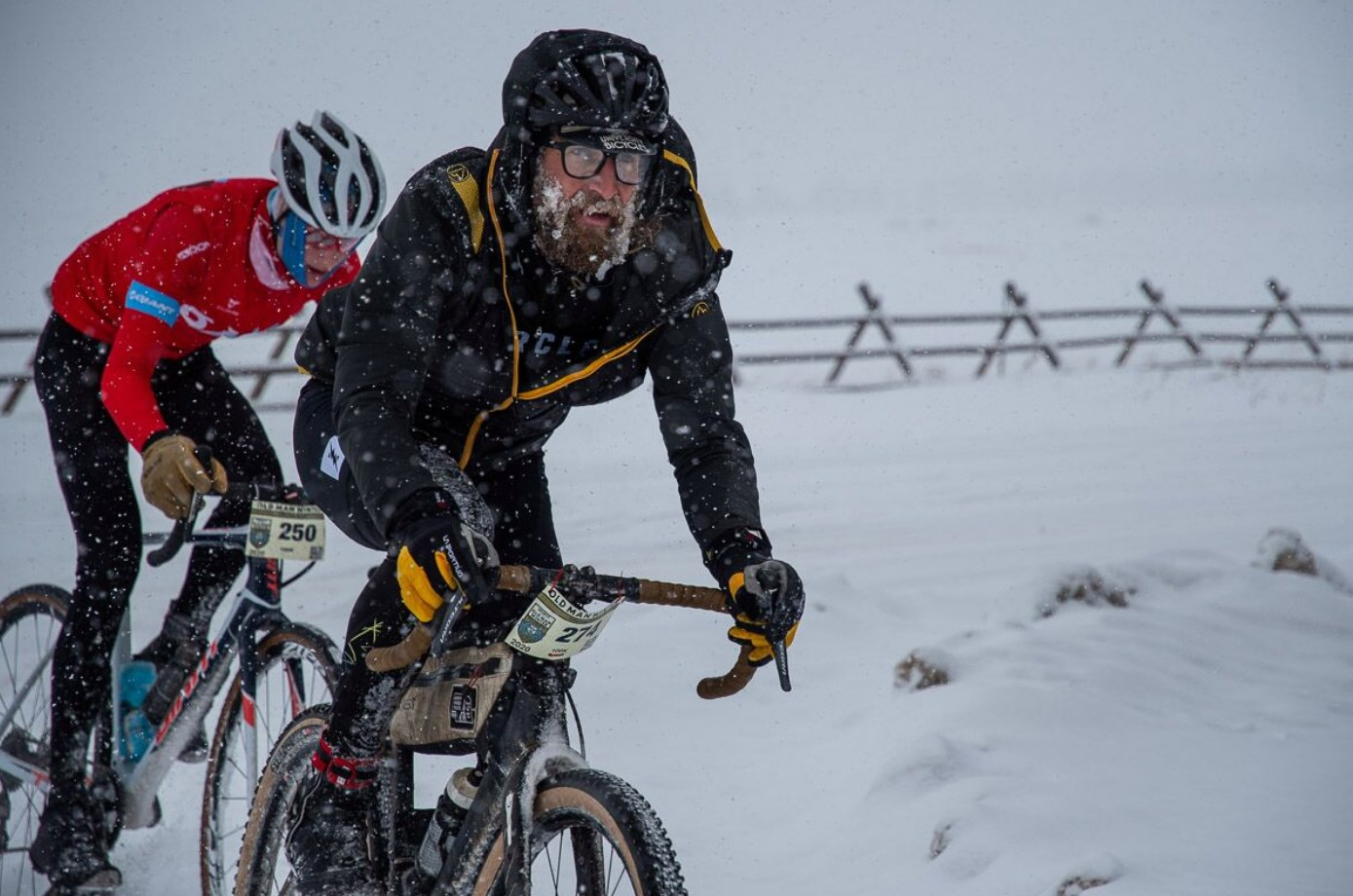 Old Man Winter Rally Stopped Mid-Race Due to Heavy Snow 3
