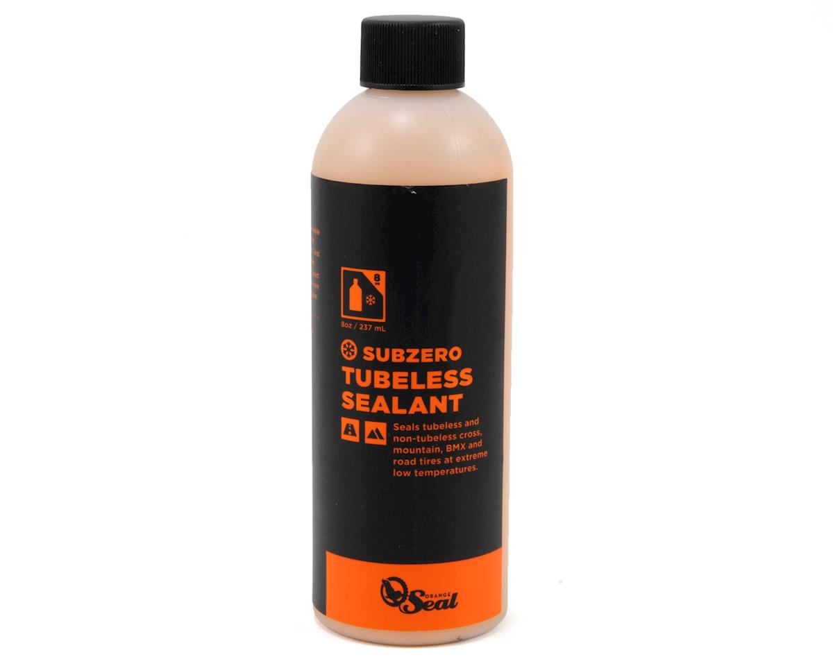 Orange Seal Subzero Sealant Fills Tubeless Punctures in Freezing Temps