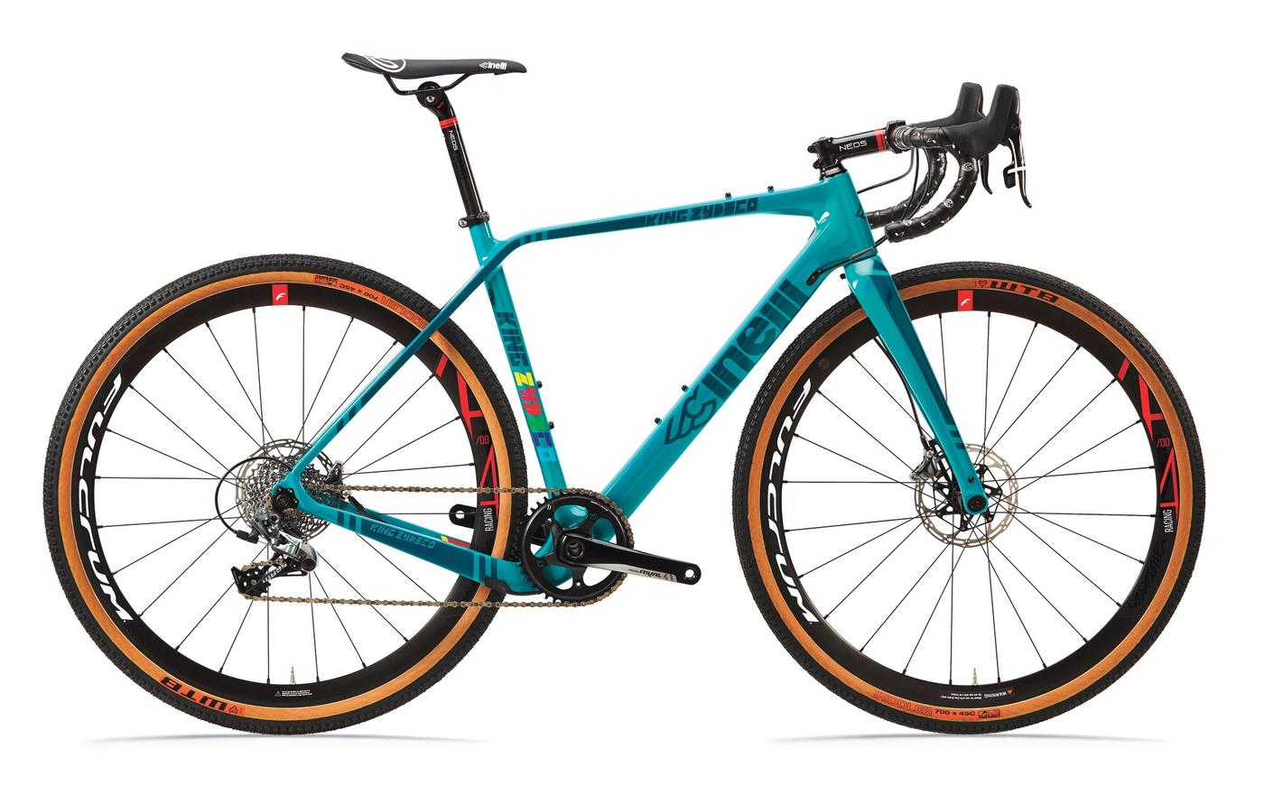 Cinelli's King Zydeco Frameset Features a Dual Rake Fork and Clearance for 2.1″ Tires 3
