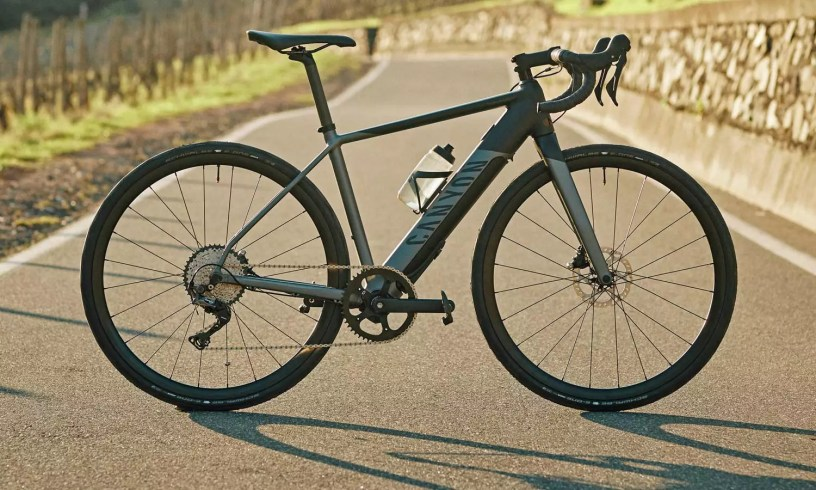 Canyon Endurace:ON AL the Brand's First E-Road Bike