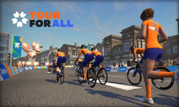 """Zwift """"Tour for All"""" Charity Event for Doctors Without Borders"""