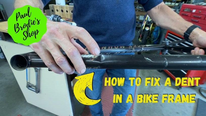 Video: How to fix a dent in your bike frame