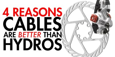 Video: Why Cable Brakes are BETTER Than Hydraulic Brakes