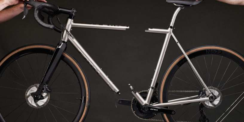 New Travel Bike Coupler System from No. 22 Bicycles