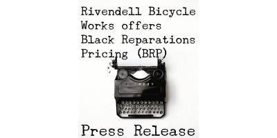 Rivendell Bicycle Works Offers Black Reparations Pricing