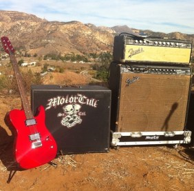 Boulder Creek Telecaster with MotorCult cab and Fender amps
