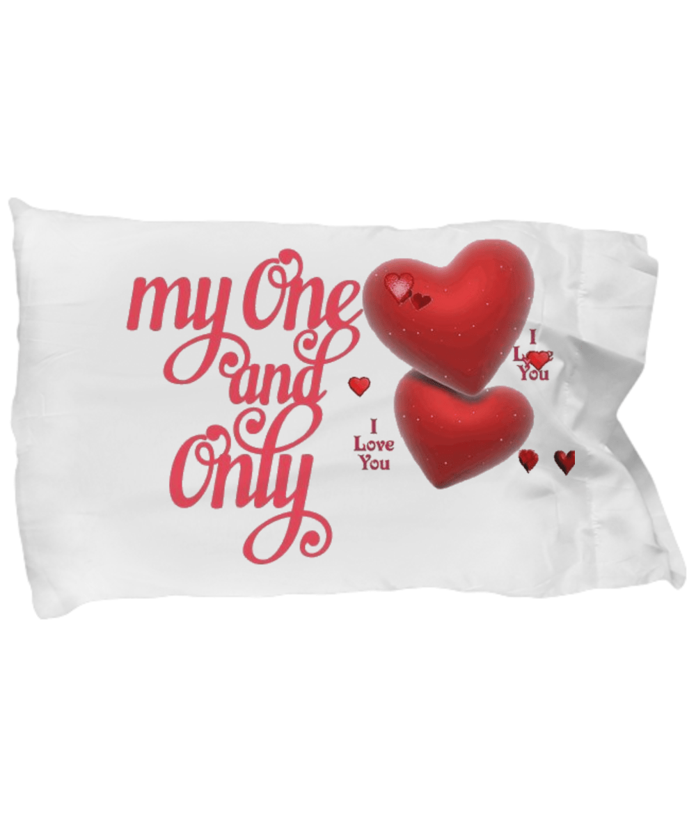 hearts pillow covers