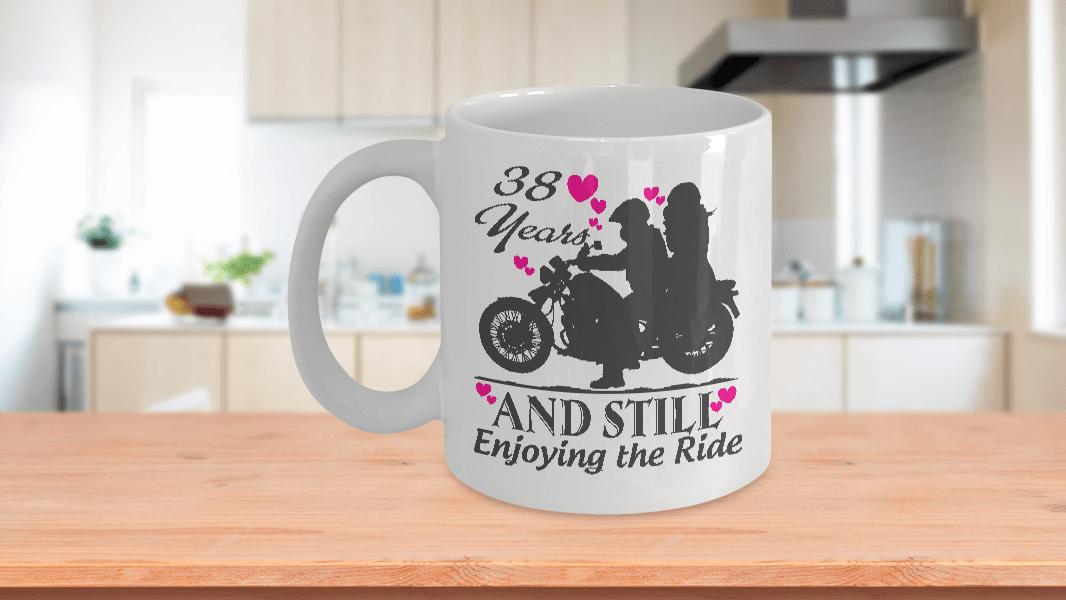 38 Years Wedding Anniversary Mugs Gift