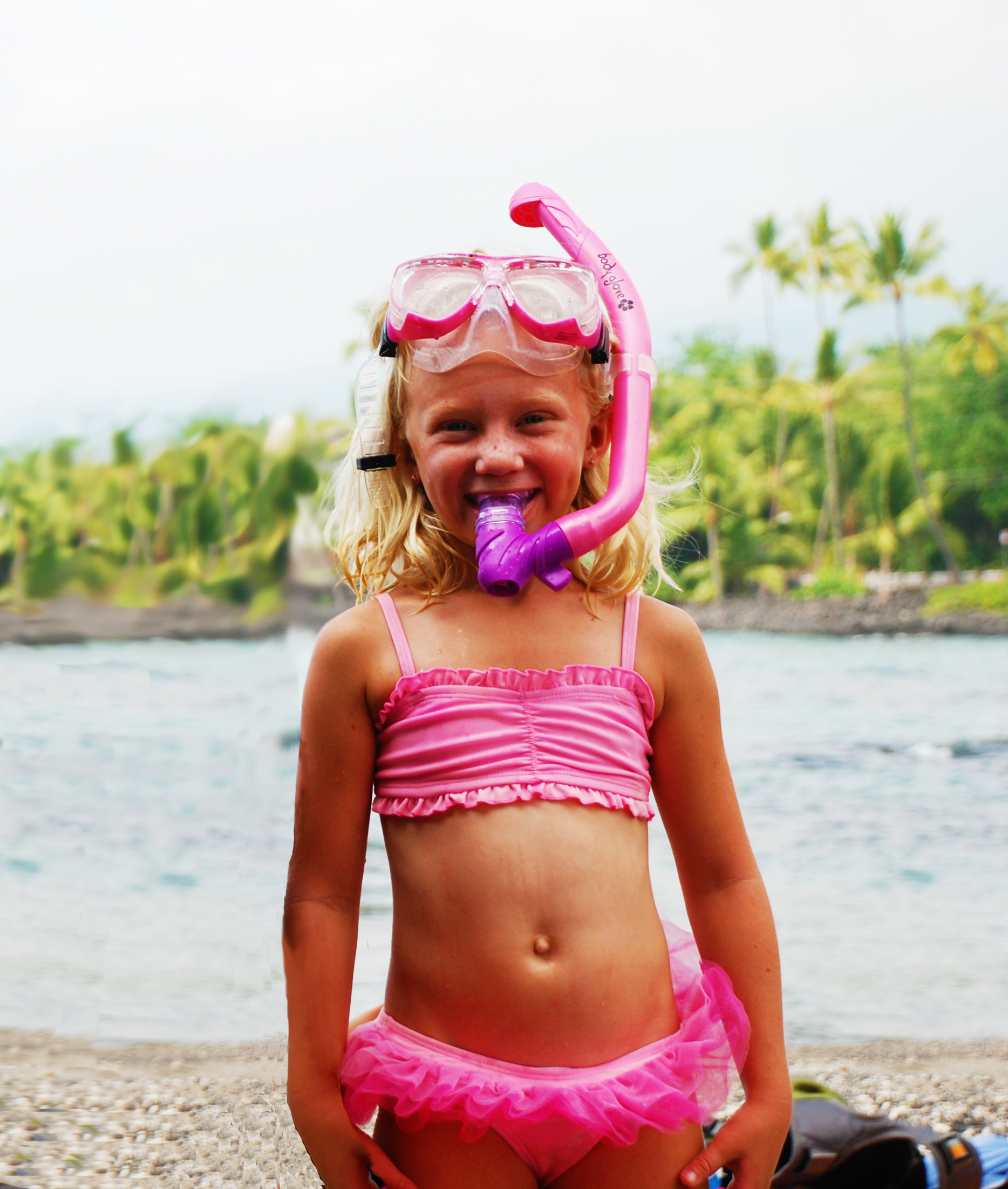 Kona Hawaii Triple Crown Ocean Swim Race Youngest Contestant