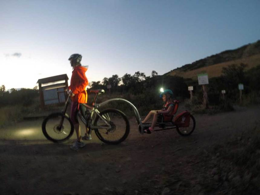 Night Ride with WeeHoo