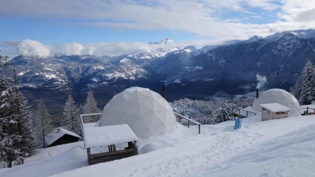 SnowPod Camping Alpine