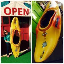 natlie and kayak