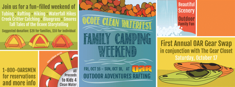 Ocoee Clean WaterFest at Outdoor Adventures Rafting!