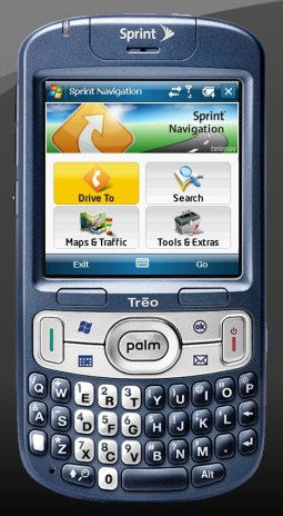 The Sprint Palm Treo 800w WM6 Phone Review