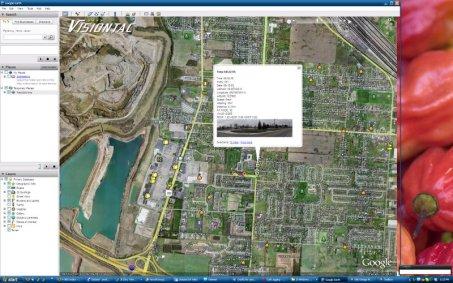 Google Earth Geotagged my Panorama