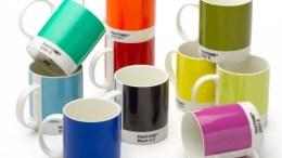 Pantone coffee mugs are perfect for graphics geeks