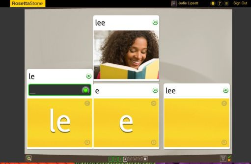 Teaching an Old Dog New Tricks: Week One into the Rosetta Stone TOTALe Program