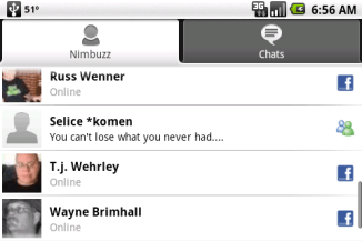Review: Nimbuzz for Android