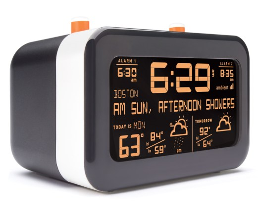 The Flurry Alarm Clock Wants to Wake You With Weather  The Flurry Alarm Clock Wants to Wake You With Weather