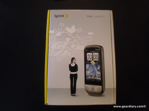 Sprint HTC Hero -3