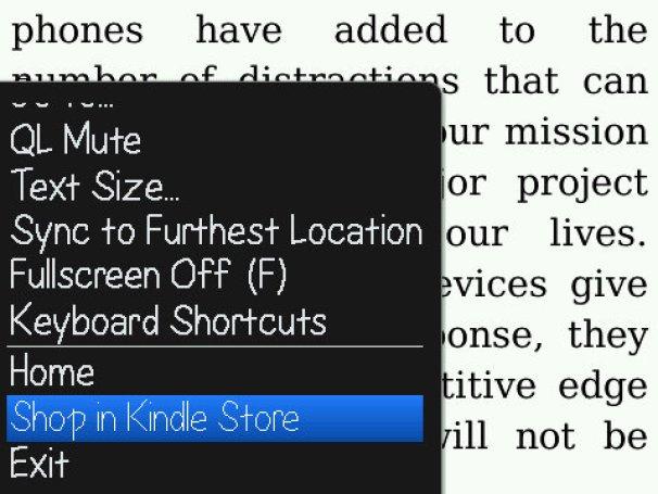 geardiary_blackberry_kindle_menu_bookstore