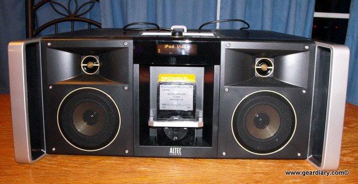 GearDiary Review: Altec Lansing MIX iMT800 Dock for iPhone and iPod