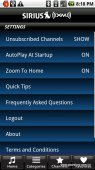 Sirius XM for Android Arrives