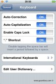 Add Custom Words to iPhone Dictionary