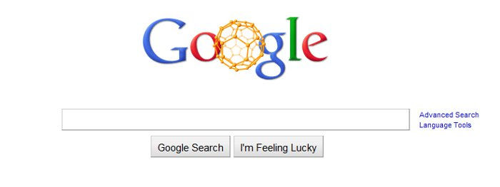 Buckyballs-in-Google-Doodle