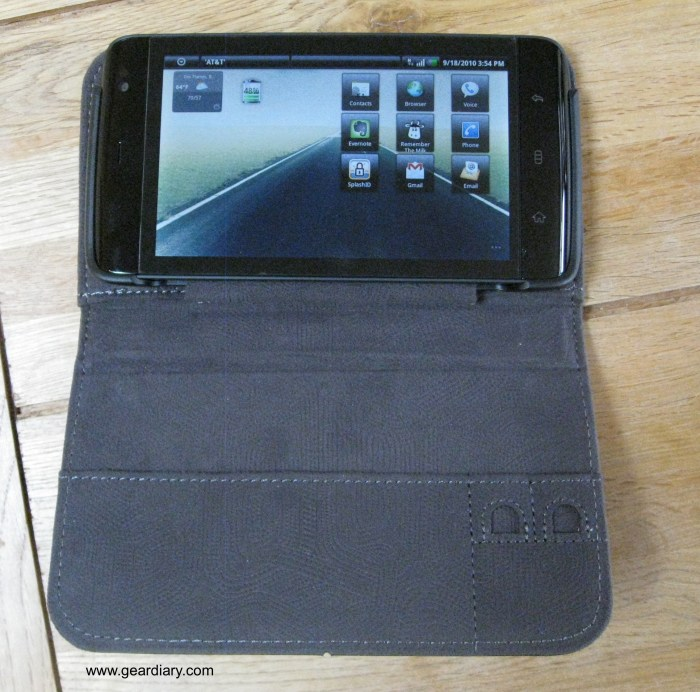 Dell Leather Streak Case front int 2