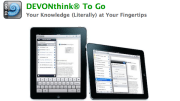 New In The iTunes App Store- DEVONthink To Go- Take All Your Documents With You!