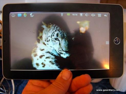 GearDiary Neuros Control Tablet 1002