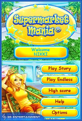 Supermarket Mania DSiWare 1
