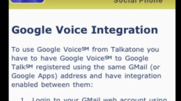 GV Connect + Talkatone = iPad Phone