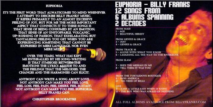 Billy Franks - Euphoria