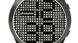 The Phosphor Appear Watch Combines Retro Bling with Cool Tech