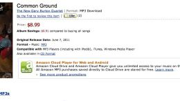 Music Diary Notes: Suddenly the iTunes vs. Amazon Price Difference Matters!