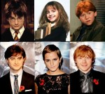 Harry potter then and now cast