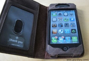 iPhone 4 Case Review: Twelve South BookBook for iPhone 4