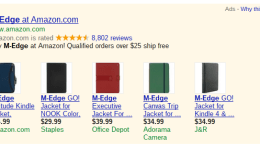 M-Edge Suing Amazon; You Had Better Stock Up on Kindle Cases Now!