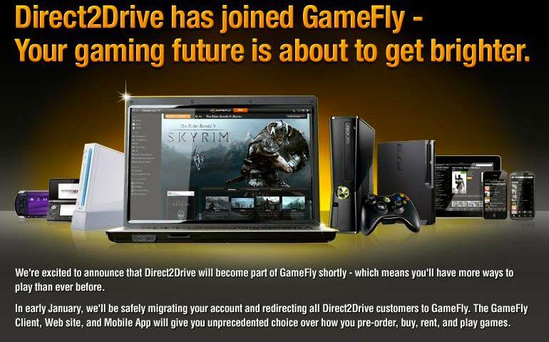 D2D GameFly