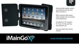 GearDiary iMainGoXP iPad Speaker Case Review
