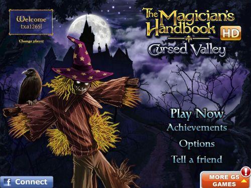 Magicians Handbook Cursed Valley