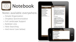 Appigo's Notebooks for iPad, a Quick Look and Exclusive Interview