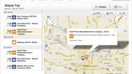 """TripIt gets """"iPadified"""" with New """"On-Map"""" Interactions and Planning"""