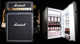 Keep Your Beer Cool and Your Tunes Loud with the Marshall Fridge